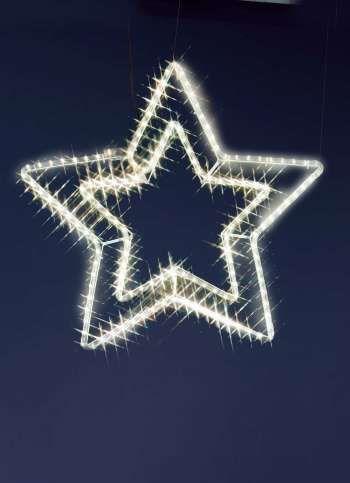 LED-Ropelightstern für außen 60 cm Ø, 8.9W