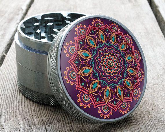 Gypsy Child Grinder by Shape Grinders - Award-Winning Grinder - Beautiful designs you can't find anywhere else! https://www.etsy.com/listing/294206283/herb-grinder-o-gypsy-child-o-25-custom
