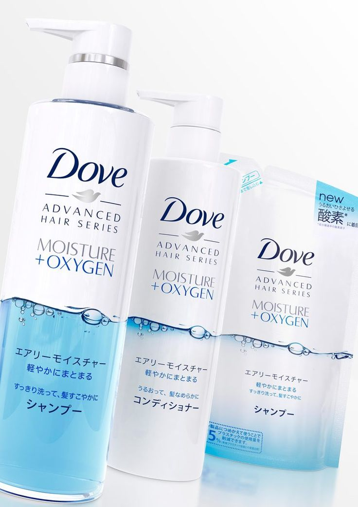 Dove Hair Care Relaunch in Japan — The Dieline - Branding & Packaging