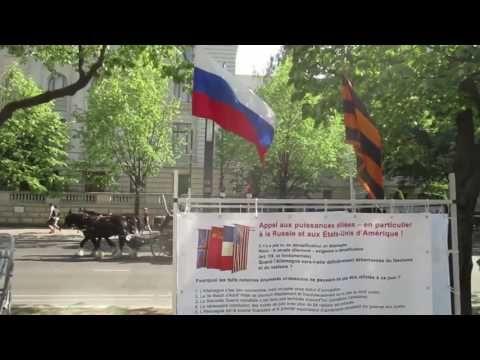 staatenlos.info Mahnwache vor der Botschaft der Russischen Föderation Mai 2017 - YouTube