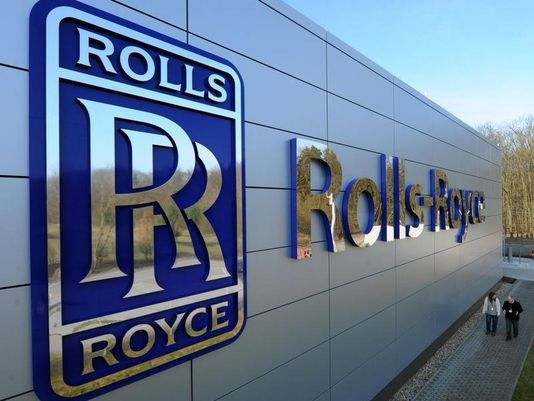 15. As part of his experience, he and his cohort are taken to the Rolls-Royce…