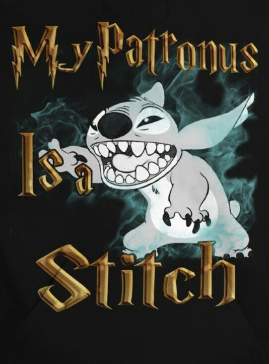 Seriously though. I have an obsession with Stitch. He is definitely my patronus