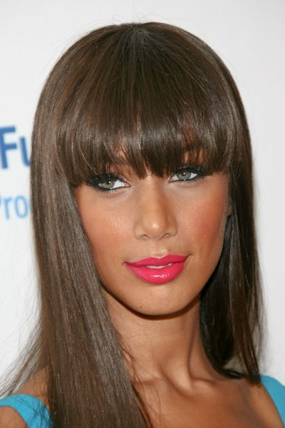 Leona Lewis; mega bangs.