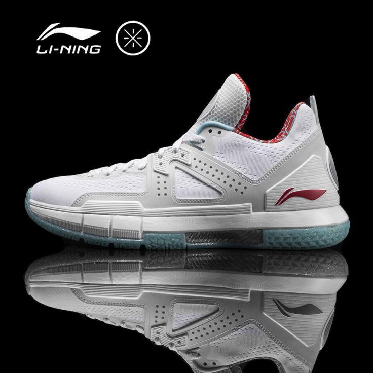 Pria Li-ning Jalan Wade 5 'CITY FLAG' CHICAGO Basket Sepatu Bantal Bounse + Sneakers Olahraga Dukungan sepatu ABAM057 XYL099