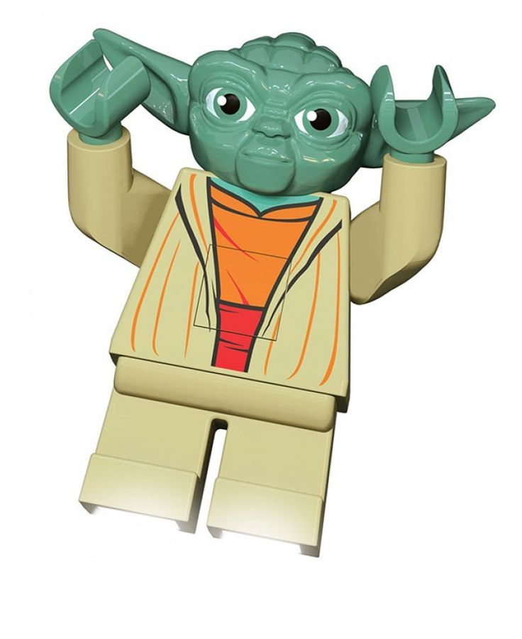 This cool Lego Star Wars Yoda LED Torch makes a perfect gift for fans of all ages. More official Star Wars lighting available.