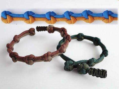 """How to Make a Simple """"Rastaclat Style"""" Quick Deploy Paracord Bracelet-Single Strand """"Mad Max Style"""" - YouTube"""