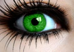 bright green contacts - Google Search