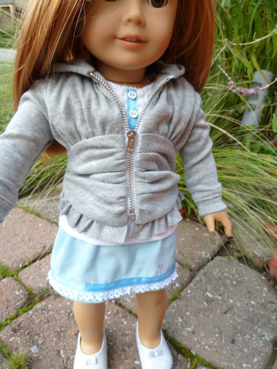 American Girl Doll Clothes  Girl Around Town 3 by AccordingtoEmma, $30.00
