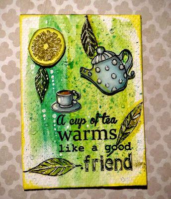 ATC coffee or tea, kawa czy herbata
