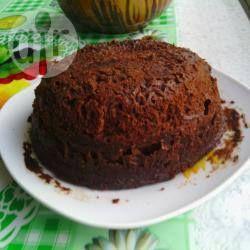 Рецепт: Шоколадный кекс в кружке за 5 минут - все рецепты России