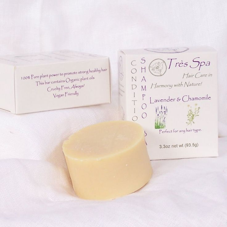 Très Spa Conditioning Shampoo Lavender Chamomile -Organic Solid Shampoo bar eco-friendly >>> More details can be found by clicking on the image. #hairstylist