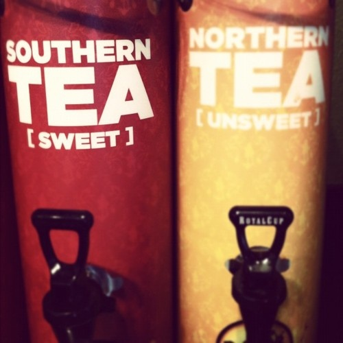 Idk how people even call themselves southern and drink unsweet tea.