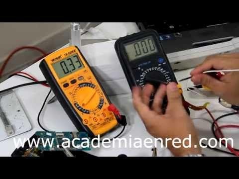 curso de reparacion de celulares completo - uso del multimetro clase 8 - YouTube
