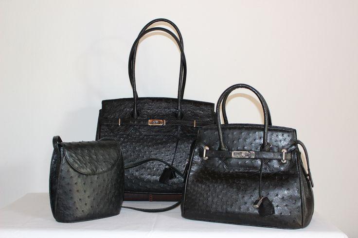 Noble Stone, Genuine Ostrich Handbags.
