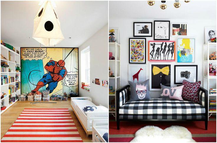 Стиль поп-арт в интерьере детской комнаты #interior #мебель #дизайн #интерьер #дом #уют #декор