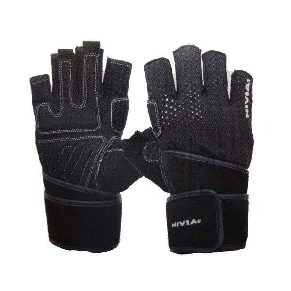 Nivia Sniper Leather Gym Gloves Product Code: FS1594  Material: Super Stretchable Micro Leather  MRP: Rs 1490.00 /- Discount: 16 % Our Price:Rs 1249.00/- Expected Dispatch in 4-5 Business days.