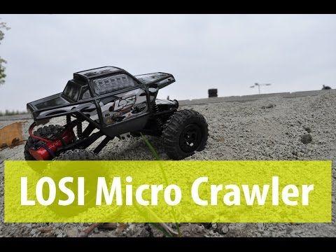 Подробный обзор и тест-драйв LOSI Micro Crawler 1:24