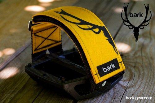 Pedal straps / UPGRADE COLOR - BLACK DEER