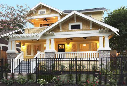 Bungalow Revival Houston, Texas My favorite house!❤