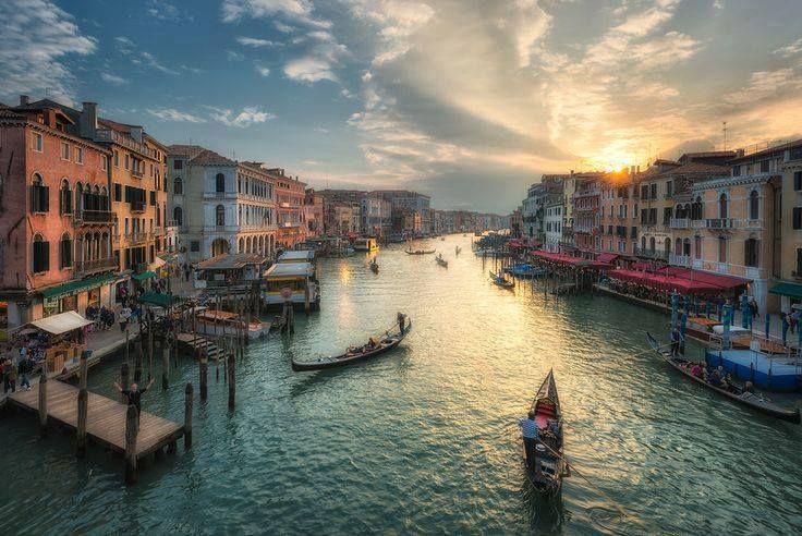 Canal Grande - Venice, Italy