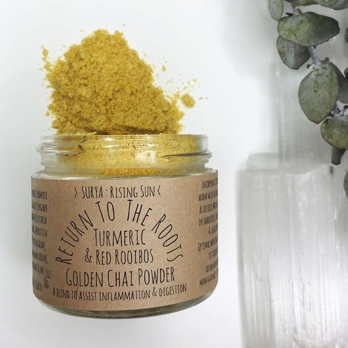 Golden Chai Powder   Return To The Roots