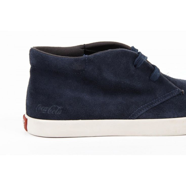 Dark Blue 40 EUR - 7 US Coca Cola mens ankle boot CCA0526 KRUNNER MIX PETROLE. size: 40 EUR - 7 US.Details: CCA0526 KRUNNER MIX PETROLE - Color: Dark Blue - Composition: Suede - Sole: RubberCondition : This item is brand new