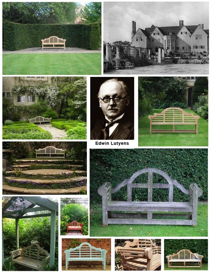 The Distinctive, Timeless Lutyens Garden Bench