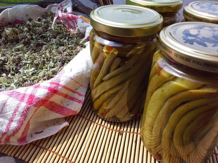 Salviaeramerino blog: Green beans from the garden