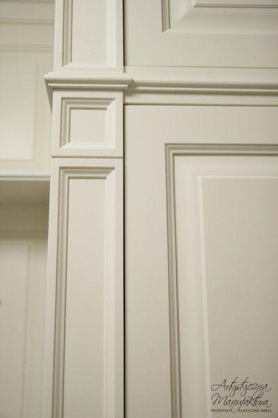 ozdobny pilaster ramkowy, traditional furniture design  - wykonanie Artystyczna Manufaktura