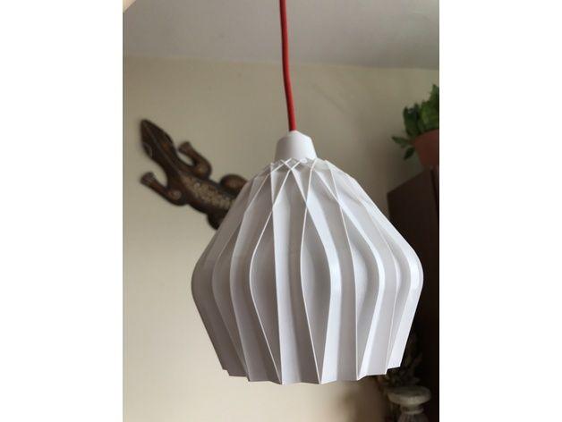Zuzanna Lamp Hanging By Edutv Thingiverse Lamp Hanging 3d Printing