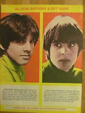 Sajid Khan Maya | The Monkees, Davy Jones, Sajid Khan, Full Page Vintage Clipping