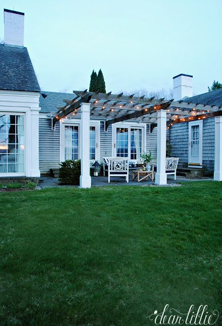 Dear Lillie: Porch and Patio Makeover with Joss and Main