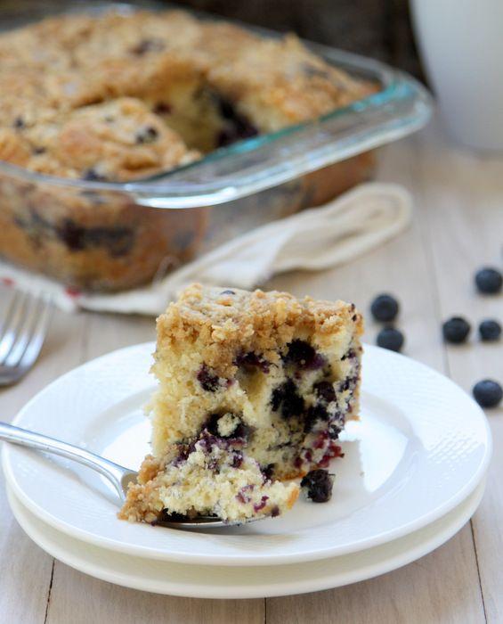 Blueberry Muffin Coffee Cake