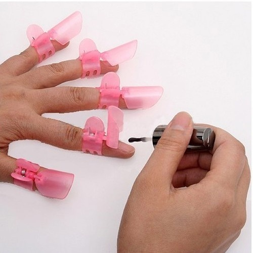 Could have just used this!  Was painting nails when storm came through and had to fix something outside..ugh!!!! Nail Polish Protection~ Clipper Protector Clip Tip | eBay