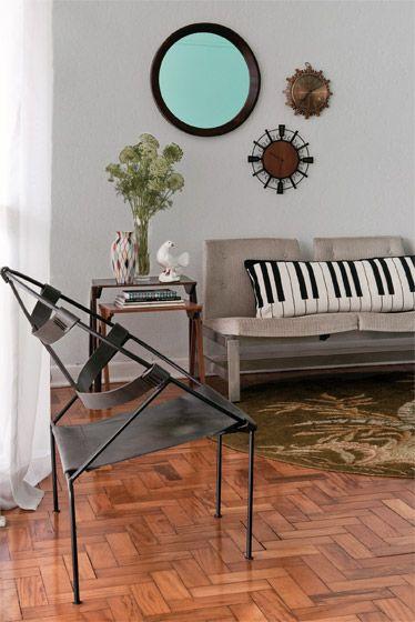 Detalhe para a almofada de piano