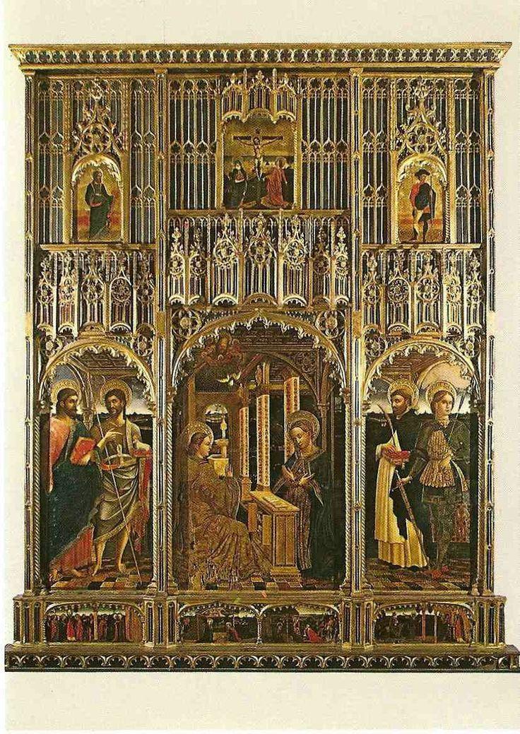 Polittico  della Natività.  1470. Santa Maria in Castello.  Genova