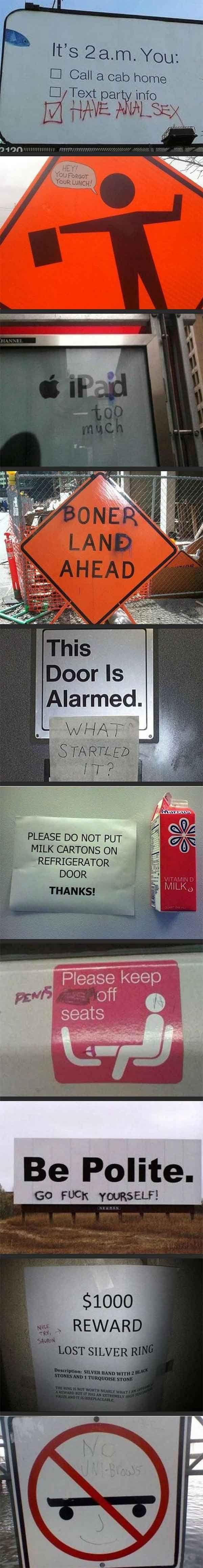 Graffiti is no laughing matter... except when it is. http://ibeebz.com