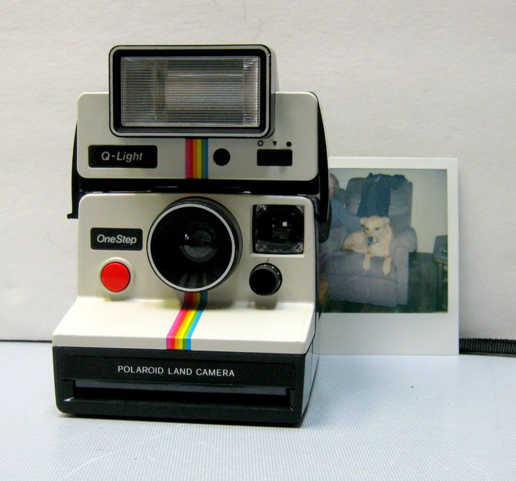 Working Film Tested Vintage Polaroid One Step SX-70 Film Camera with Original Flash Attachment by CanemahStudios on Etsy