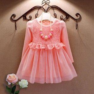 Pink Floral Bodice Dress