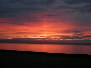 Sunset, Nairn, Scotland