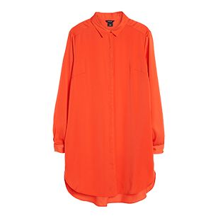 Dlouhá košile Oranžová