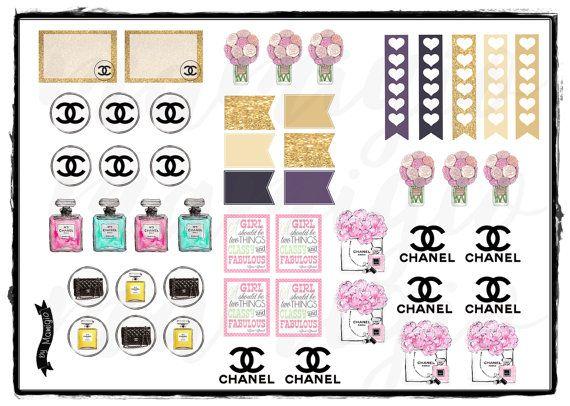"""Sticker """"Chanel"""""""