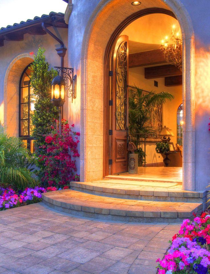 97 best images about gates doors on pinterest england for Mediterranean style front doors