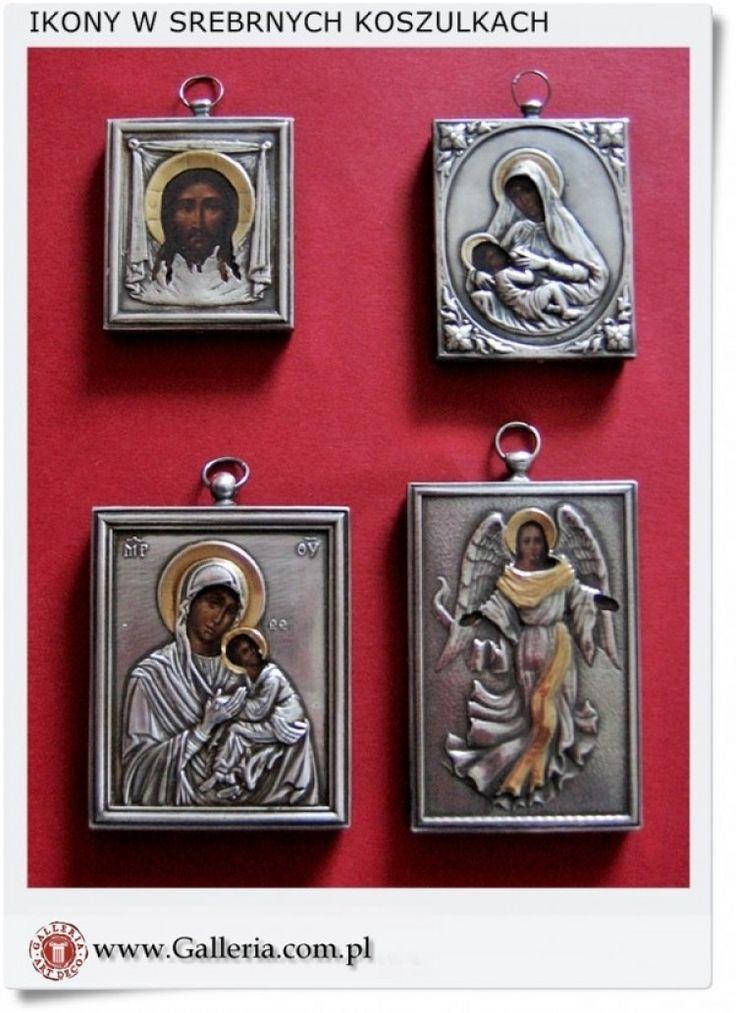 Polskie ikony w srebrnych koszulkach Handmade Poland