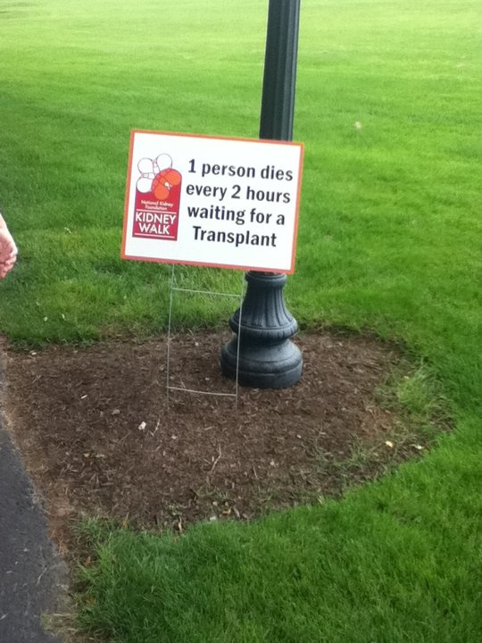 1 person dies every 2 hours waiting for a transplant