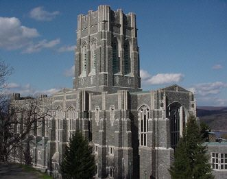 Cadet Chapel @ West Point US Military Academy (largest church organ in the world)