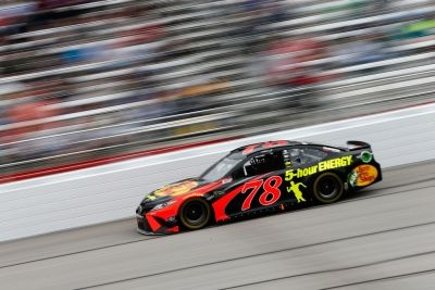 Truex Jr. Finishes 5th Despite Challenges at Atlanta #NASCAR