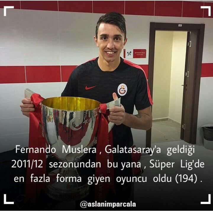 ADAMSINNN!!! #muslera #galatasaray