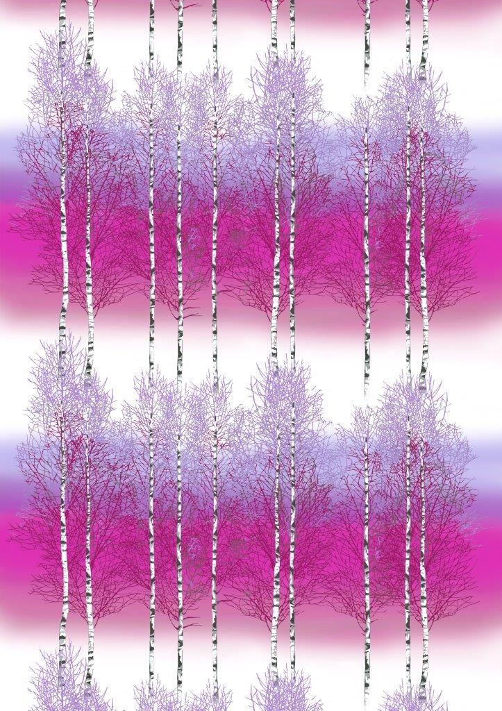 Vallila Interior Koivikko pink