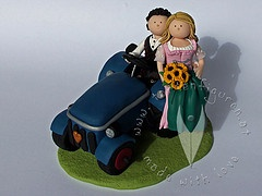 ... Hochzeitstortenfiguren on Pinterest  Poodles, Wedding cake toppers